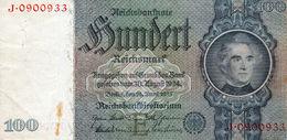 Billet De 100 Reichsmark Du 24 Juin 1935 - - [ 4] 1933-1945: Derde Rijk