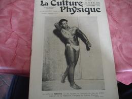 1941 Revue La Culture Physique    Culturisme Ferrero - 1900 - 1949