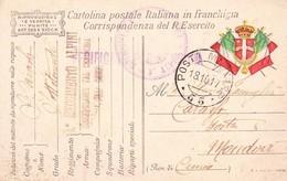 (DS)18  OTTOBRE  1917  POSTA MILITARE     55 - Guerra 1914-18