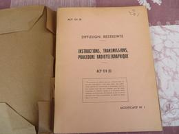 Instruction, Transmissions, Procédure Radiotélégraphique - ACP 124 (B) - 76/05 - Books, Magazines, Comics