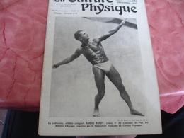 1937 Revue La Culture Physique    Culturisme Andre Rolet - 1900 - 1949