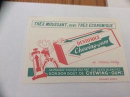 Buvard * «DENTIFRICE Chewing-gum De Christian Merry» - Parfums & Beauté