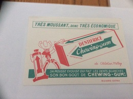 Buvard * «DENTIFRICE Chewing-gum De Christian Merry» - Parfum & Kosmetik