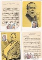 España Nº 2762 Al 2767 En Tarjetas - 1931-Hoy: 2ª República - ... Juan Carlos I