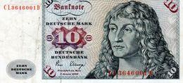 Billet De 10 Mark Du 2 Janvier 1980 - - [ 7] 1949-… : RFA - Rep. Fed. Tedesca