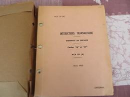 """Instructions Transmissions - Signaux De Service """"Q"""" Et """"Z"""" - ACP 131 (A) - Original - 77/05 - Books, Magazines, Comics"""