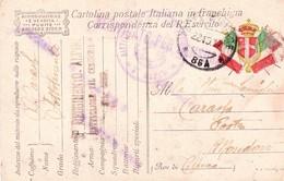 (DT)  22  OTTOBRE  1917  POSTA MILITARE     86A - War 1914-18