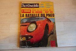 Magazine L'automobile N°247-novembre 1966-la Bataille Du Pneu - - Auto/Moto