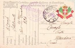 (DV)  11  OTTOBRE  1917  POSTA MILITARE     55 - War 1914-18