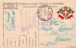 (DZ)  5  OTTOBRE  1917  POSTA MILITARE     55 - Guerra 1914-18