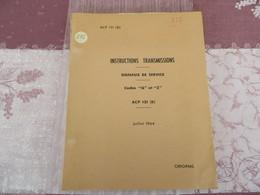 """Instructions Transmissions - Signaux De Service """"Q"""" Et """"Z"""" - ACP 131 (B) - Original - 215/05 - Books, Magazines, Comics"""