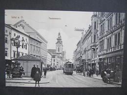 AK LINZ Taubenmarkt Strassenbahn Ca.1915 // D*38682 - Linz