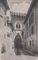 VIGEVANO-PAVIA-INGRESSO CASERMA G. ARTIGLIERIA-CARTOLINA VIAGGIATA IL 1-5-1924 - Pavia