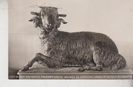 PALERMO MUSEO NAZIONALE ARIETE BRONZO DA SIRACUSA - Sculture