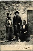 ISRAEL JERUSALEM Juifs Belle Animation 1905 Précurseur - Israel