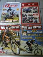Lot De 4 Revues Quad Et Vélo Tout Terrain - Books, Magazines, Comics