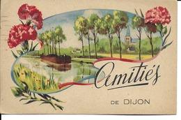 """21 - Dijon - Carte Fantaisie """"Amitiés De Dijon"""" - Dijon"""