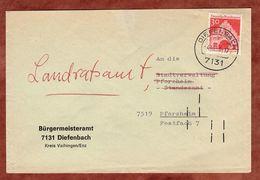 Brief, Flensburg, Diefenbach Nach Pforzheim 1968 (74214) - Briefe U. Dokumente