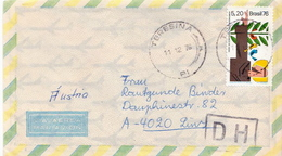 Postal History Cover: Brazil Stamp On Cover - Concorde