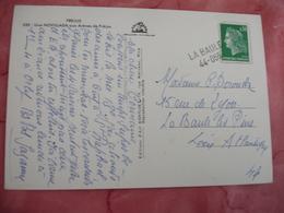 La Baule 44 055 Griffe Marque Lineaire Obliteration De Forfortune Sur Lettre - Marcophilie (Lettres)