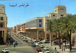 CPM - Tripoli : Avenue Omar Muktar - Libye