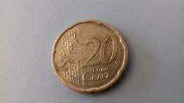 PIECE DE 20 CT D'EURO ALLEMAGNE 2007 G - Allemagne