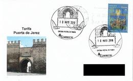 SPAIN. POSTMARK JEREZ GATE. TARIFA (CADIZ). 2019 - Machine Stamps (ATM)