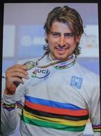 Cyclisme :Peter Sagan, Champion Du Monde 2015 à Richmond, édition Italienne - Ciclismo