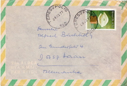 Postal History Cover: Brazil Stamps On 3 Covers - Christmas