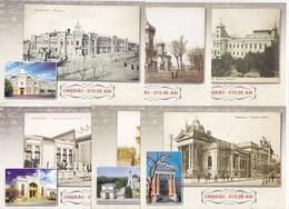 Moldova  Moldavie  Moldau ,  2011 , Chisinau , Set Of 6  Pre-paid Postcard , FDC - Moldova