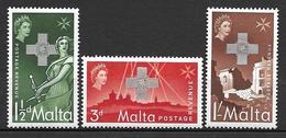Malta 1957 - Award Of The George Cross To Malta - Malta