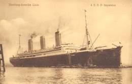 Hamburg-Amerika Linie - S.S.D. Imperator - Paquebots