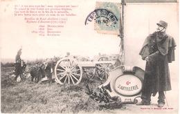 CPA Bergeret - 6e Régiment D'artillerie - 1914-18