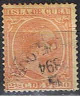 CUBA 21 // YVERT 81 // 1891-92 - Cuba (1874-1898)