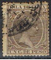 CUBA 18 // YVERT 73 // 1890 - Cuba (1874-1898)