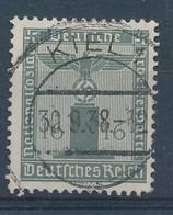 """REICH -  Mi Nr 151 - Dienstmarken - Gest./obl. - Stempel """"KIEL"""" - Cote 12,00 € - Officials"""