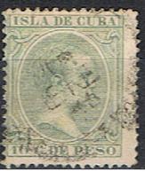 CUBA 28 // YVERT 93 // 1896-97 - Cuba (1874-1898)