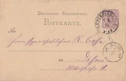 DR Ganzache K2 Güsten I. Anhalt 7.5.75 - Briefe U. Dokumente