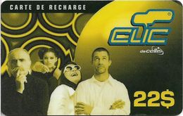 Lebanon - Clic De Cellis - Family, Exp. 31.08.2000, Prepaid 22$, Used - Liban