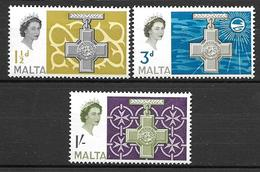 Malta 1961 - Fourth George Cross Issue - Malta