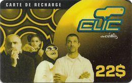 Lebanon - Clic De Cellis - Family, Exp. 31.08.2001, Prepaid 22$, Used - Lebanon