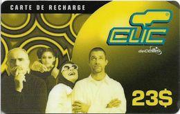 Lebanon - Clic De Cellis - Family, Exp. 31.12.2001, Prepaid 23$, Used - Libanon