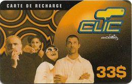 Lebanon - Clic De Cellis - Family, Exp. 31.05.2001, Prepaid 33$, Used - Libanon