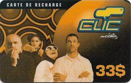 Lebanon - Clic De Cellis - Family, Exp. 31.06.2001, Prepaid 33$, Used - Liban
