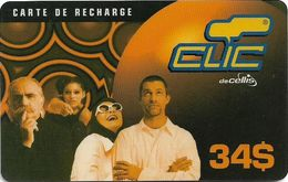 Lebanon - Clic De Cellis - Family, Exp. 15.04.2002, Prepaid 34$, Used - Liban