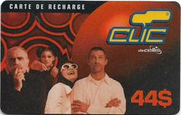 Lebanon - Clic De Cellis - Family, Exp. 31.07.2001, Prepaid 44$, Used - Libanon