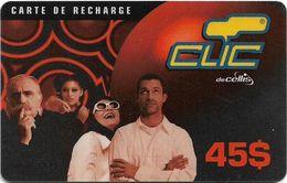 Lebanon - Clic De Cellis - Family, Exp. 27.09.2002, Prepaid 45$, Used - Libanon