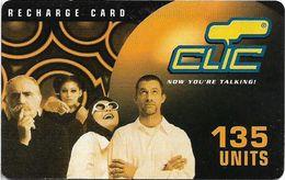 Lebanon - Clic De Cellis - Family, Exp. 31.01.2004, Prepaid 135U, Used - Libanon