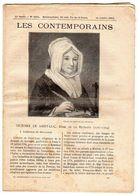 Hebdomadaire Les Contemporains N°1044-13-10-1912-victoire De Saint-Luc,dame De La Retraite ( 1761-1794 ) - Newspapers