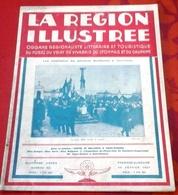 La Région Illustrée N°52 1931 Costes Et Bellonte Saint Etienne,Obsèques Général Berthelot,Photo Club Chambon Feugerolles - Libros, Revistas, Cómics